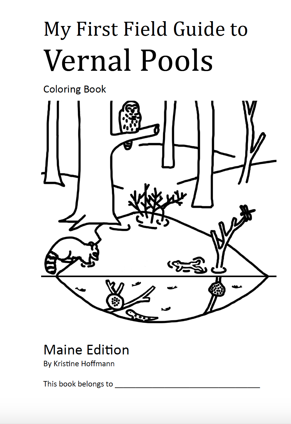 Of Pools and People – Coloring Book